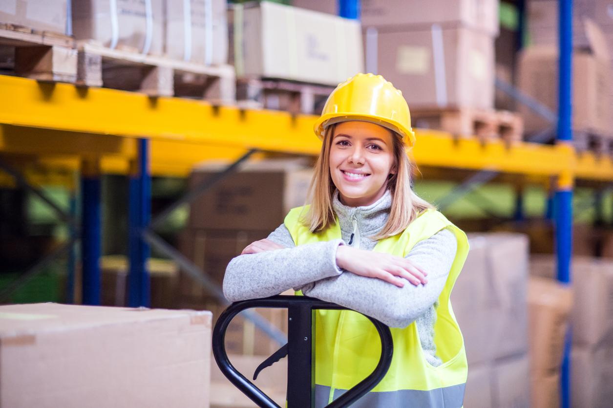 Att arbeta som lagerarbetare