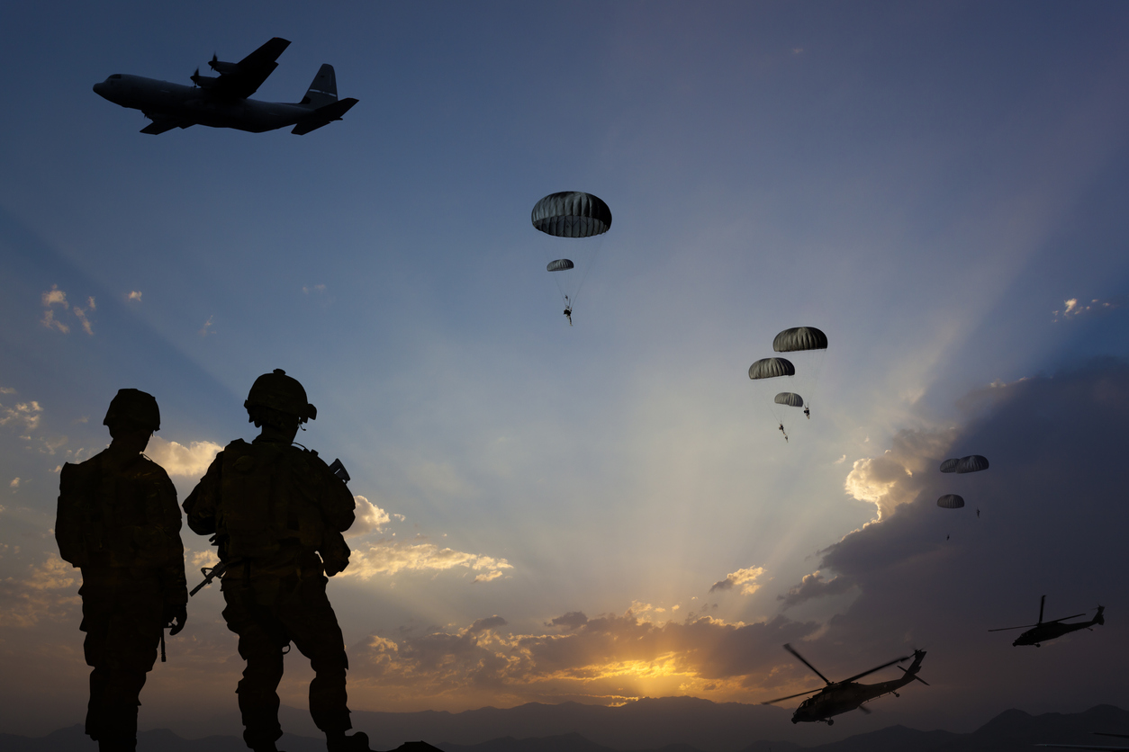 Militär logistik